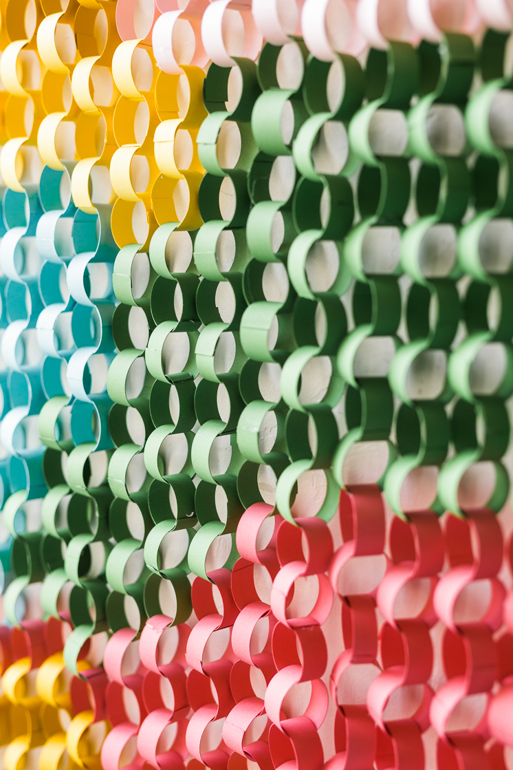 Paper Chain Wall Hanging