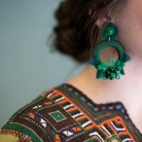 DIY Mixed Media Earrings