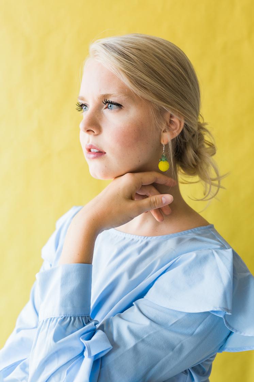 DIY Fruit Earrings