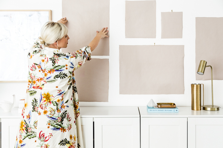 How to create a gallery wall to go with your TV