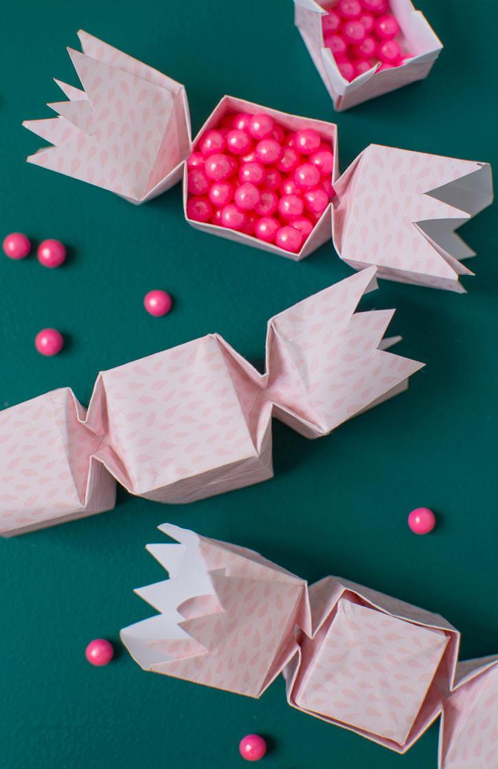 How to make a Paper Candy Shaped Box DIY/ Origami Candy Shaped Box ... | 1119x725