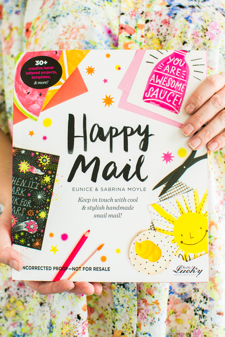 Happy Mail Book Giveaway and Printable Card