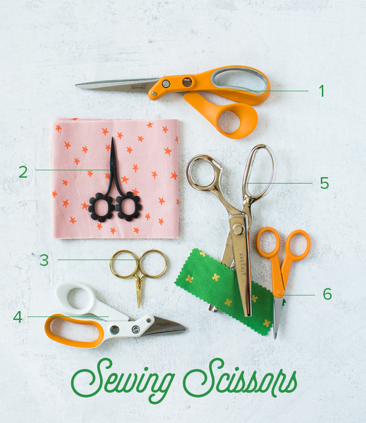 Guide to how to use scissors