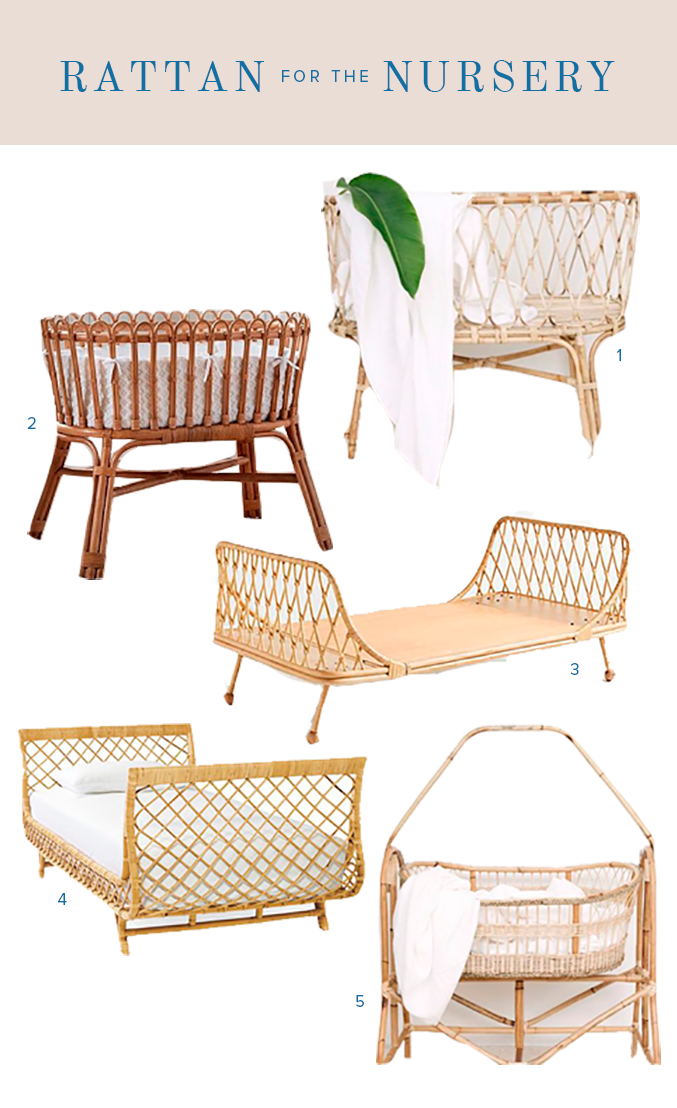 Baby rattan furniture
