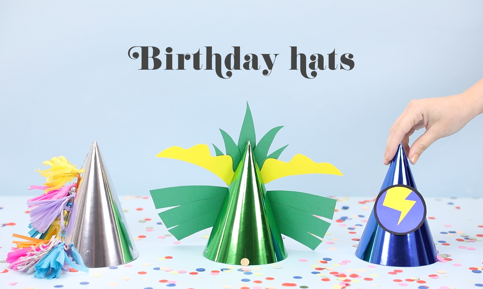Birthday hat hack