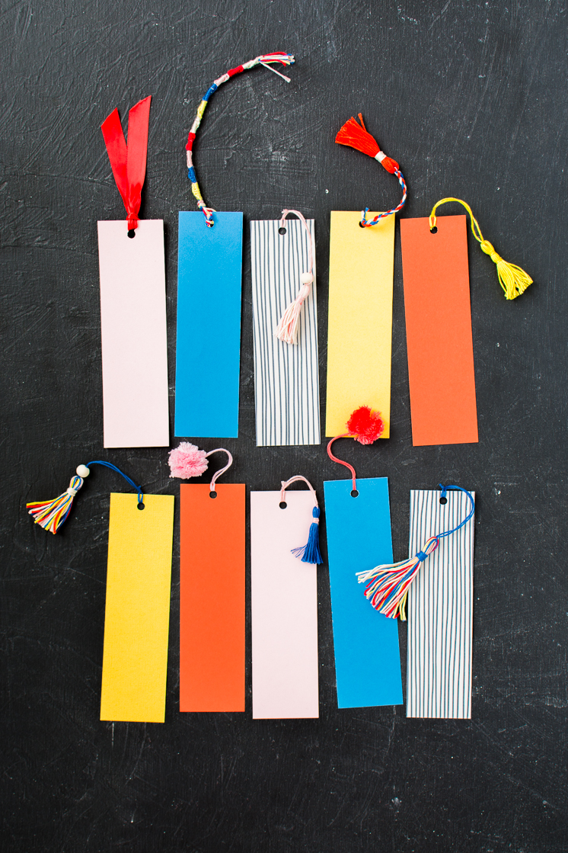 DIY Bookmark Tassels