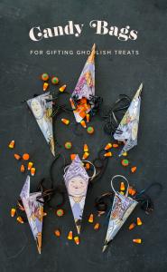Printable Halloween Candy Gift Box