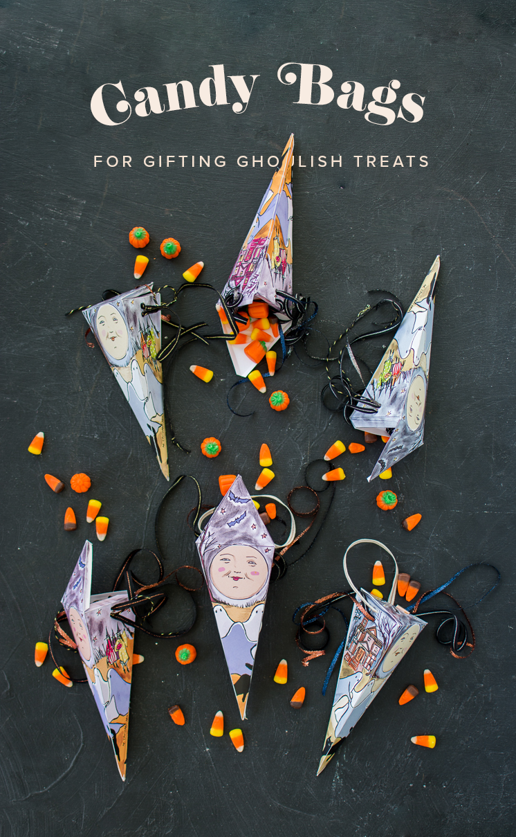 Printable Halloween Candy Gift Box