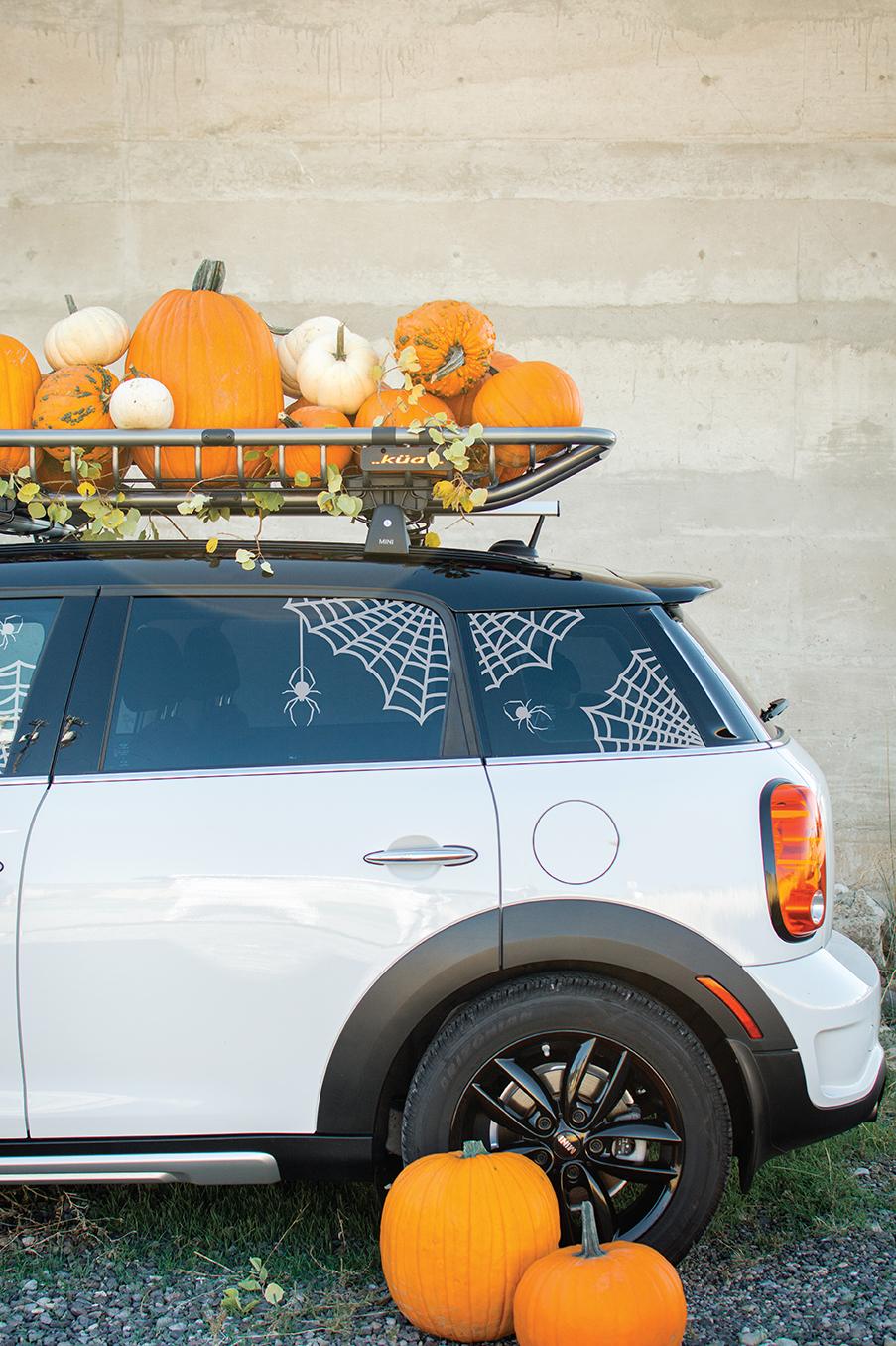 Pumpkin Patch Car