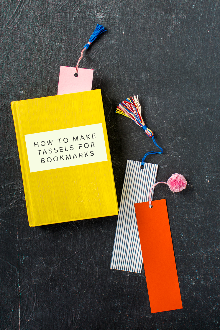 4 basic techniques to decorate bookmarks