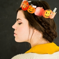 Printable Pumpkin Crown