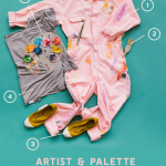Arist and palette mommy and baby costume recipe