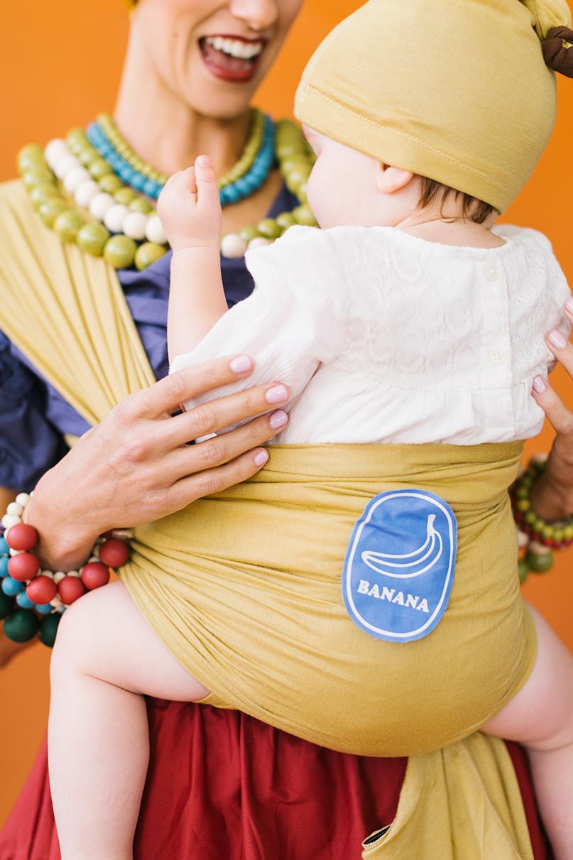 Chiquita Banana mommy and baby costume recipe