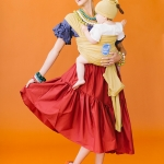 Chiquita and banana mommy and baby costume