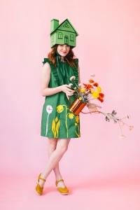 Green house Halloween costume