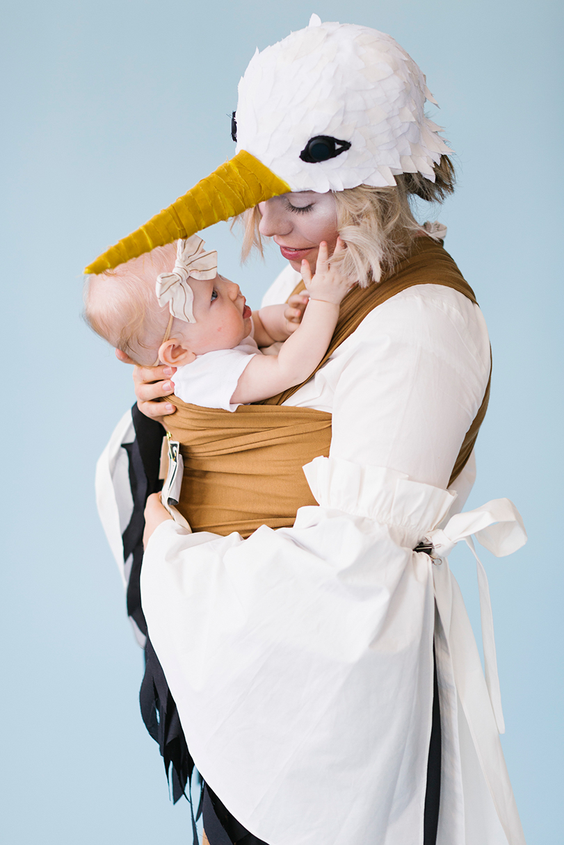 Chiquita Banana mommy and baby costume recipe