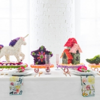 Rose Parade Tablescape
