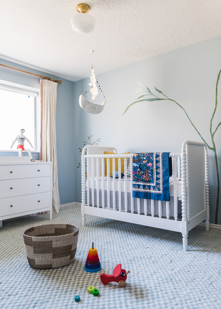 Baby Boy Room Design Pictures: Before And After: Our Baby Boy Nursery Mural