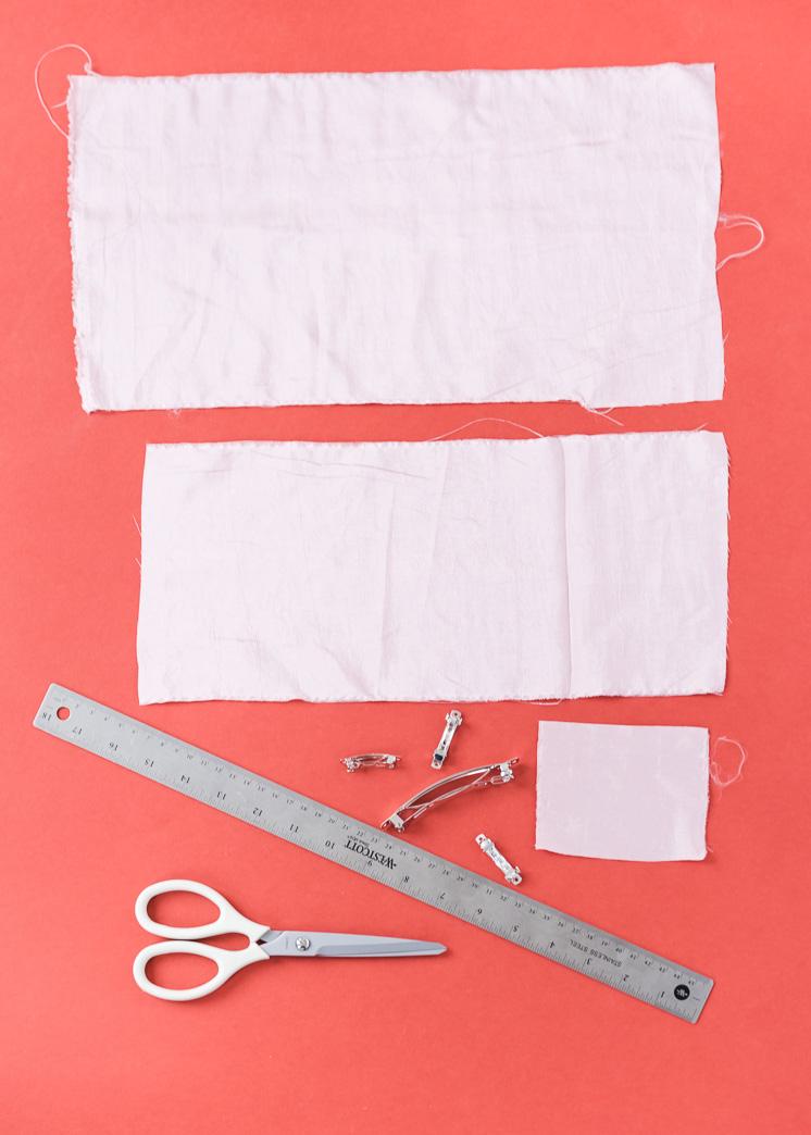 DIY silk bow