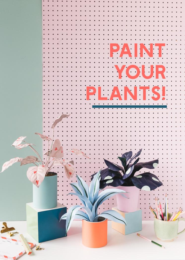 Paint your plants