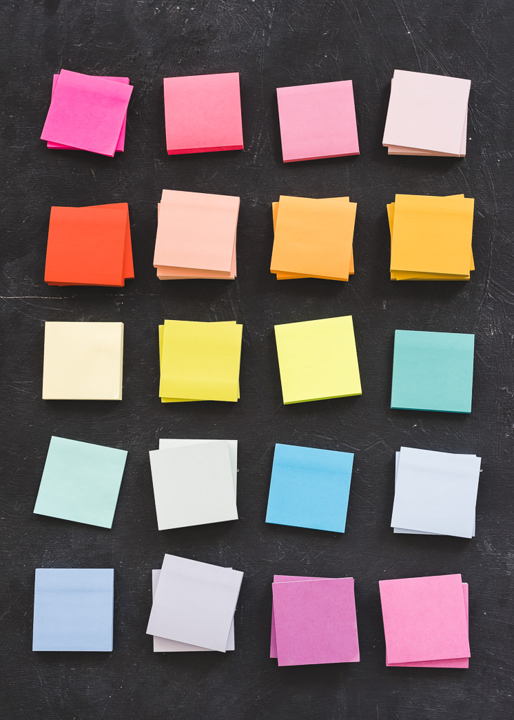 DIY Sticky Note Mural