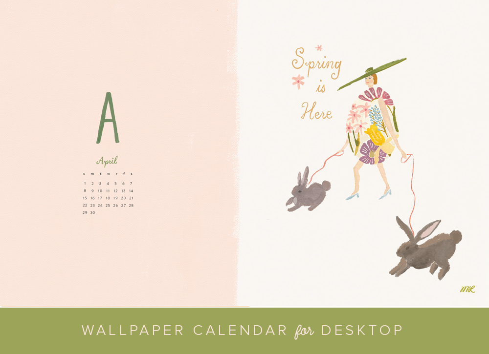April 2018 Spring Wallpaper