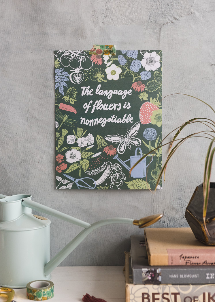 The Language of Flowers Artwork