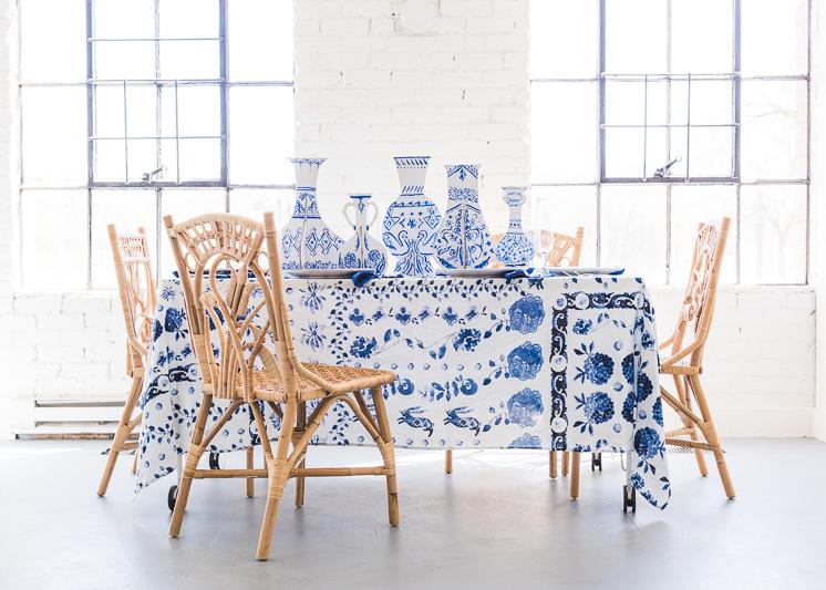 DIY Painted Cardboard Vases