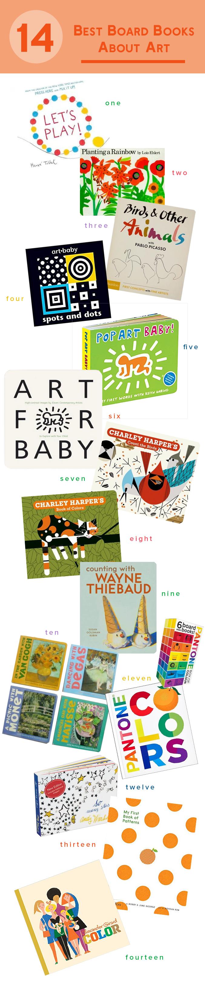 Artful board books for babies