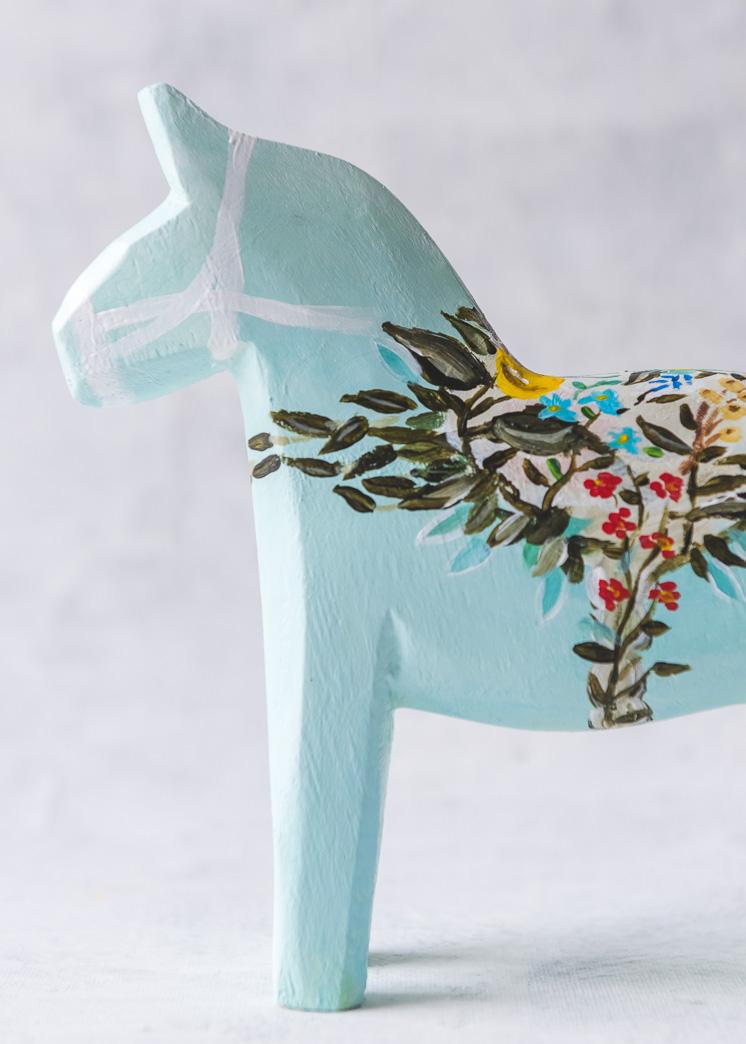 DIY Dala Horse