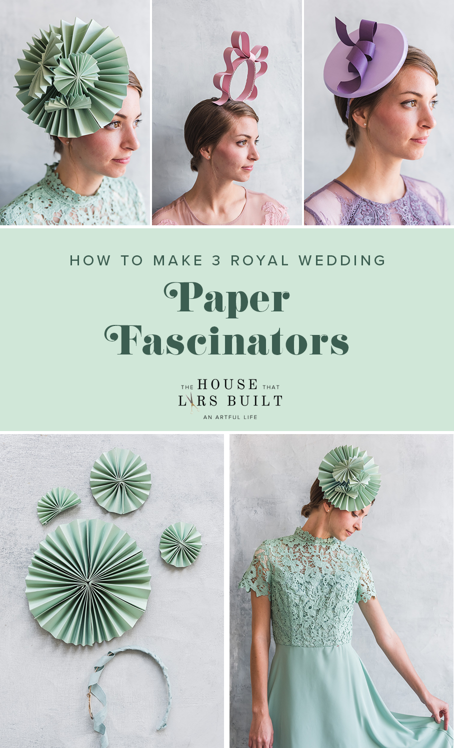 How to make a paper fascinator