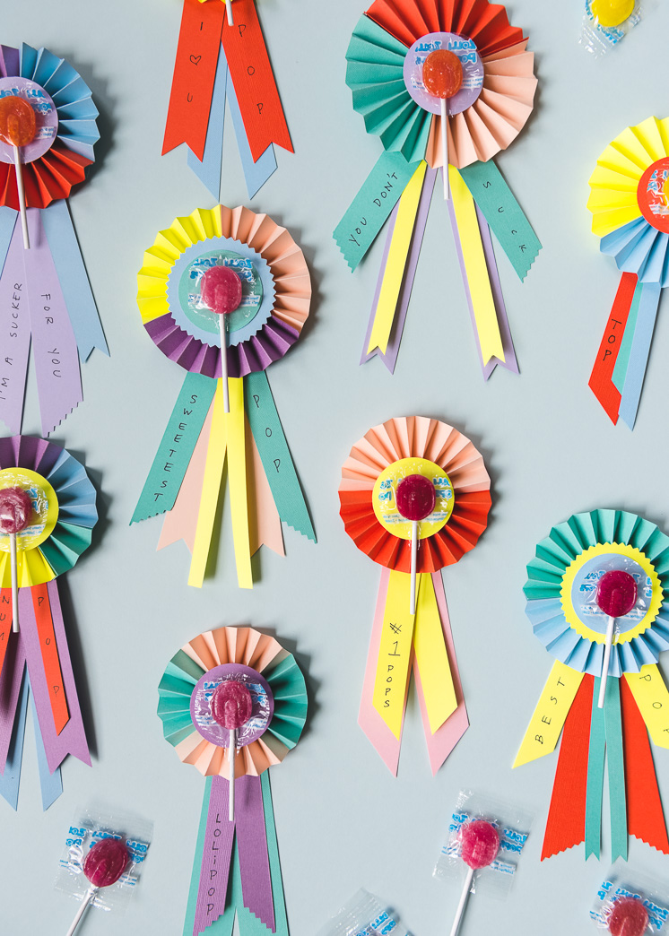 LolliPOP Father's Day prize ribbons
