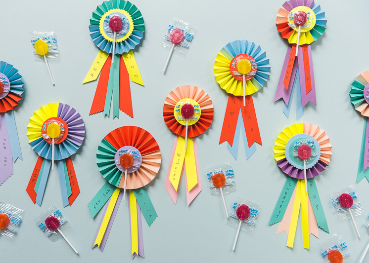 Father's Day LolliPOP Prize Ribbons