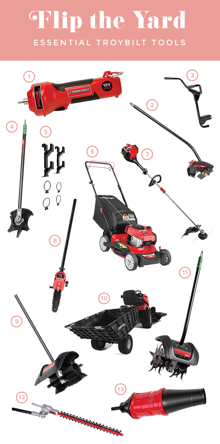Lawn Rainbow Makeover with Troybilt
