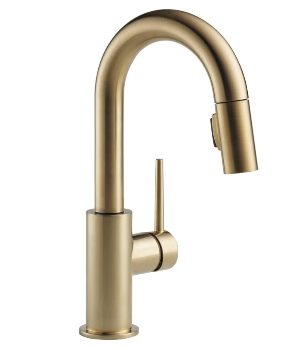 Delta bronze faucet