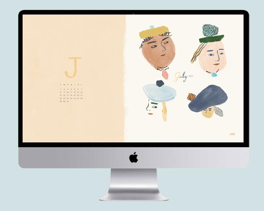 July 2018 Desktop Wallpaper