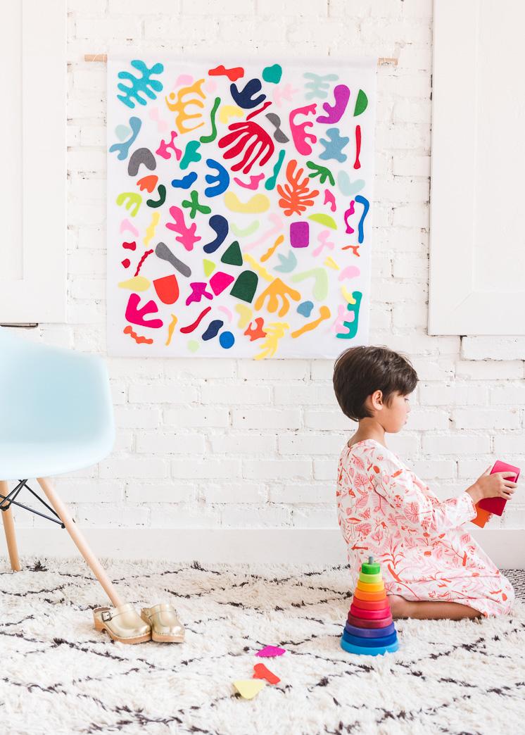 DIY Matisse Felt Board