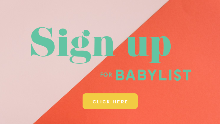 Sign up for babylist