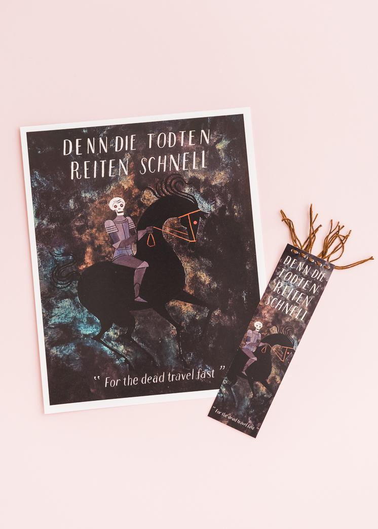 Dracula Book Club Artwork