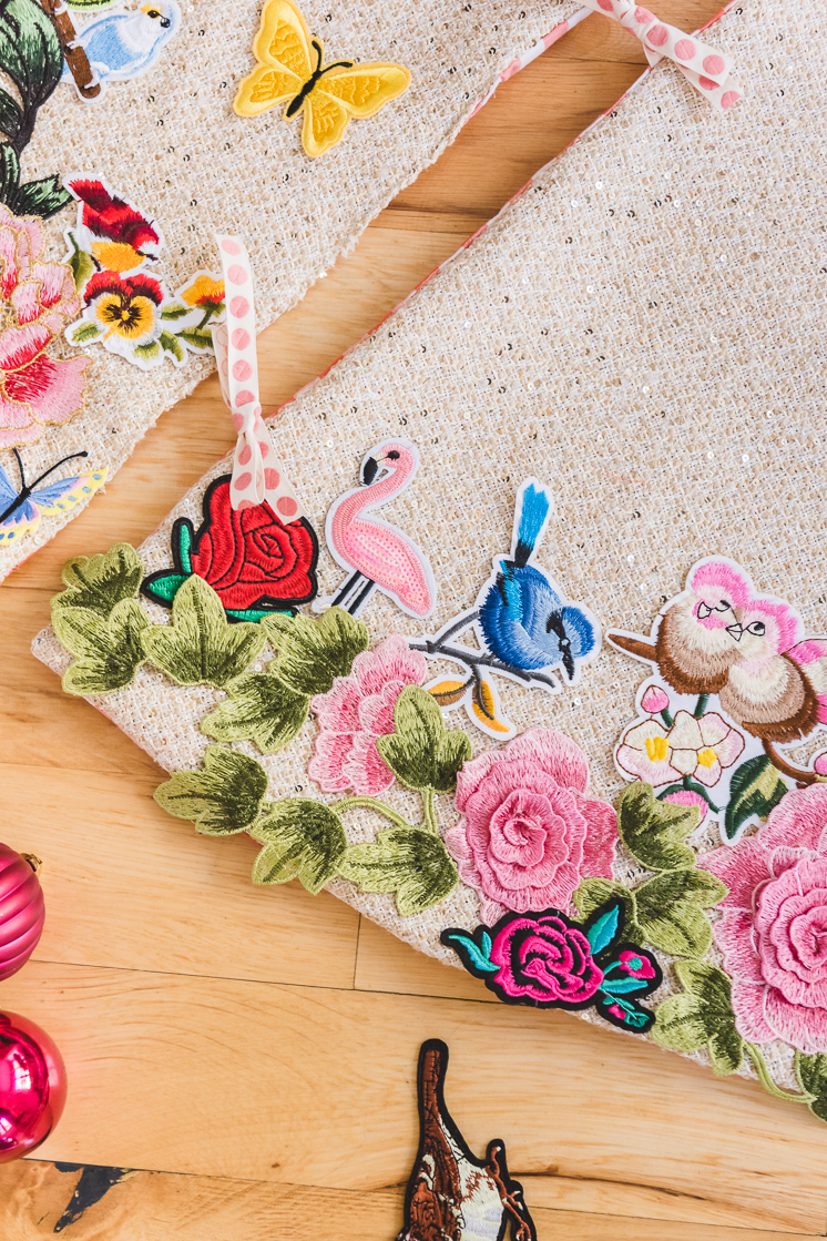 Applique Tree Skirt Hack