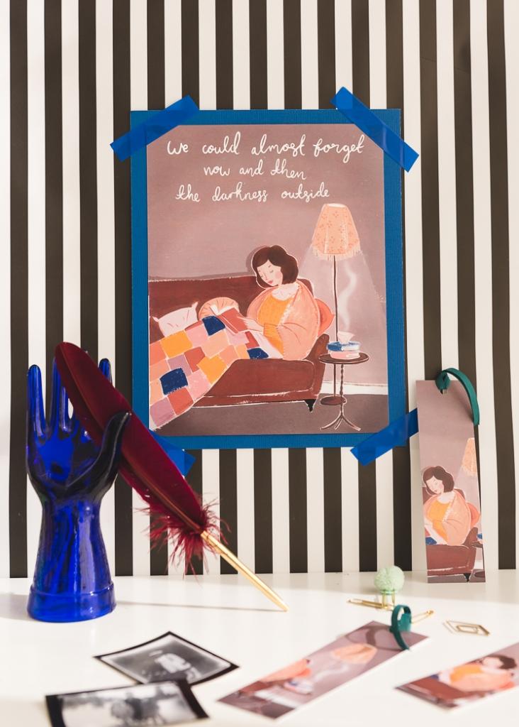 November Book Club Art