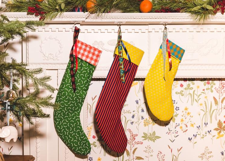 DIY Custom Christmas Stockings