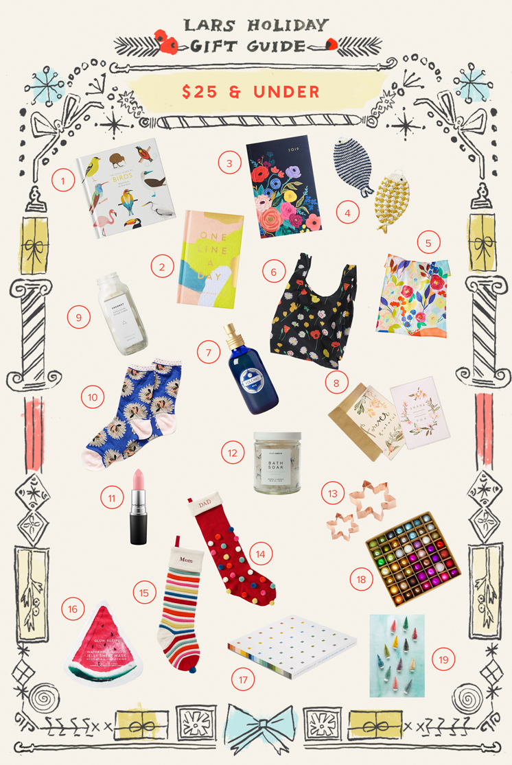 Gift Guide: $25 and under