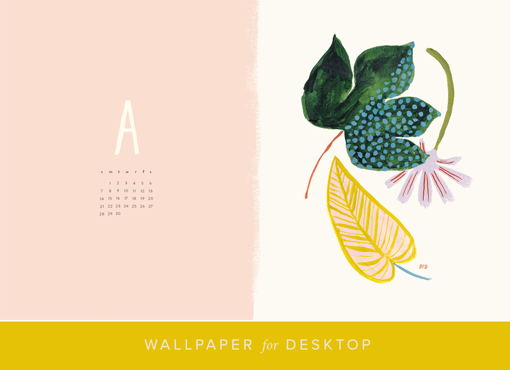 Desktop Calendar And Wallpaper For April The House That Lars Built
