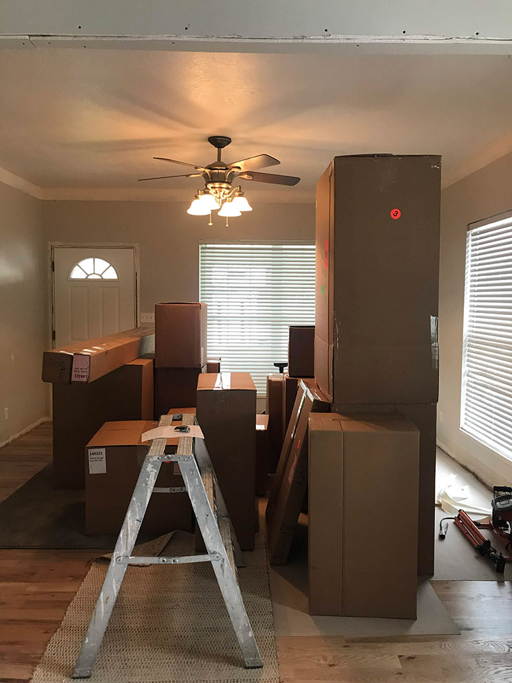 One Room Challenge Week 3: Demo and Installation - The House