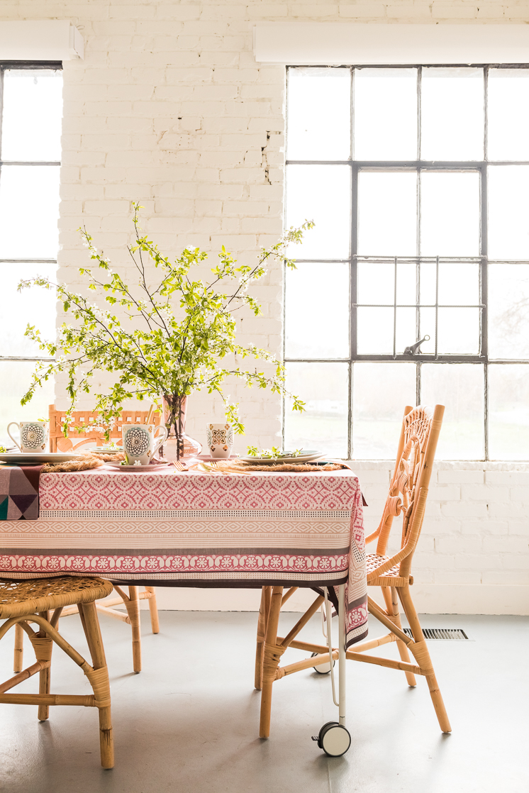 How to Mix Patterns with Lenox Global Tapestry