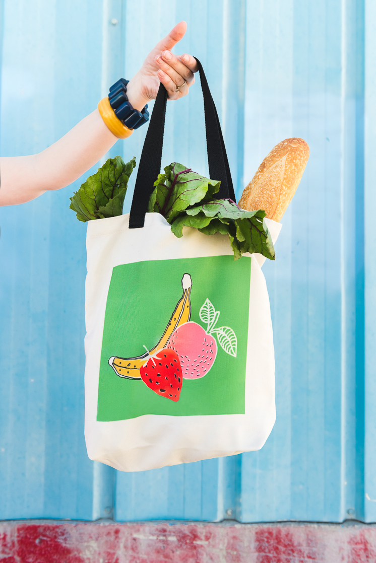 Farmer S Market Tote With Infusible Ink The House That