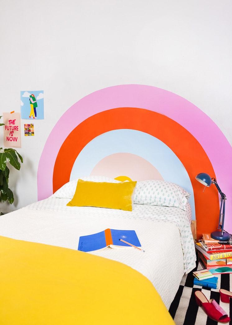 Diy Rainbow Headboard The House That Lars Built