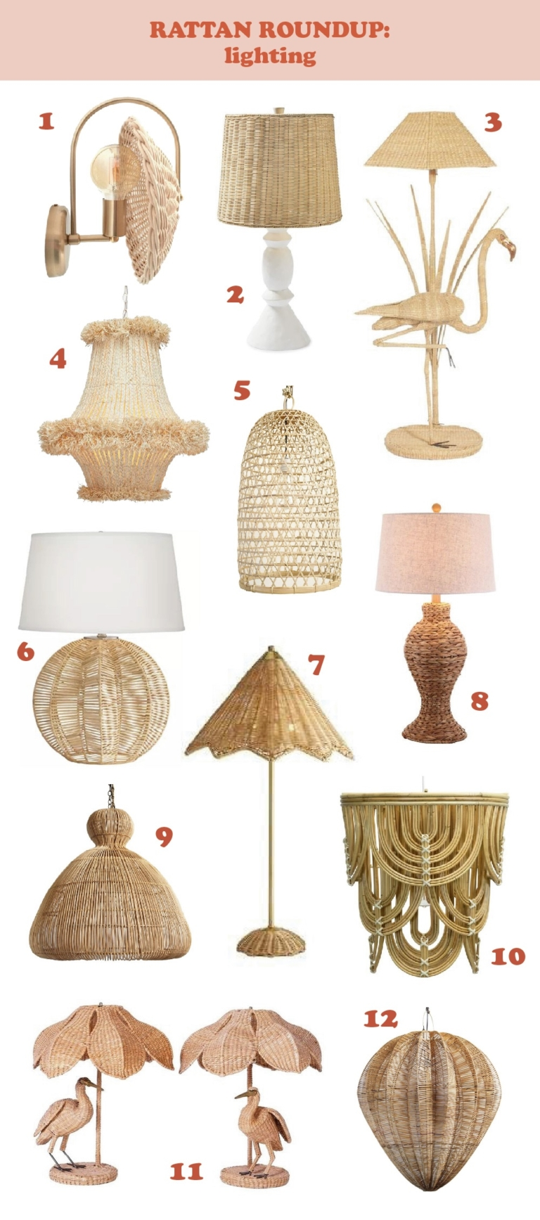 Favorite rattan pieces for the home