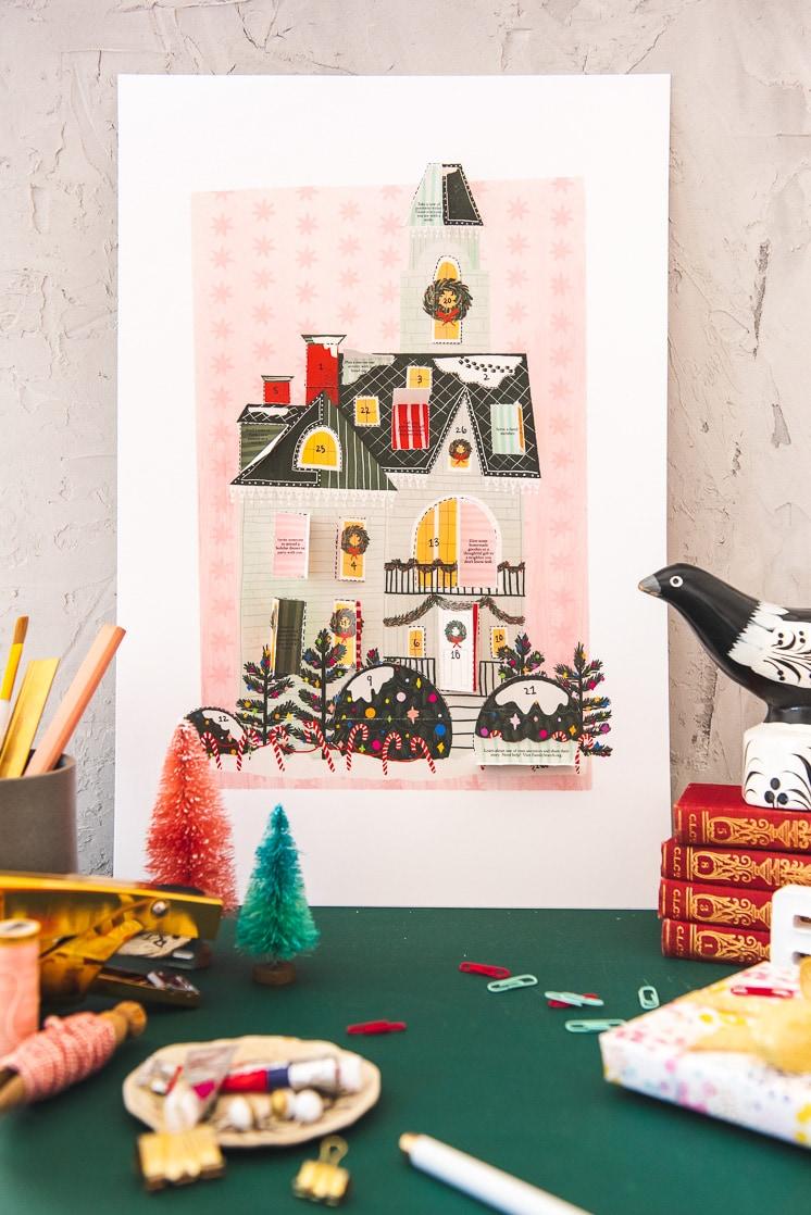 Christmas Home Advent Calendar